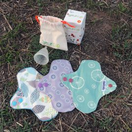 LOTE Salvaslip Impermeables  Ecológicos + COPA Menstrual Naturcup