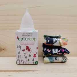 Pack de 3 Salvaslip lavables Eco + COPA Menstrual Naturcup