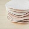 Discos de lactancia de tela reutilizables